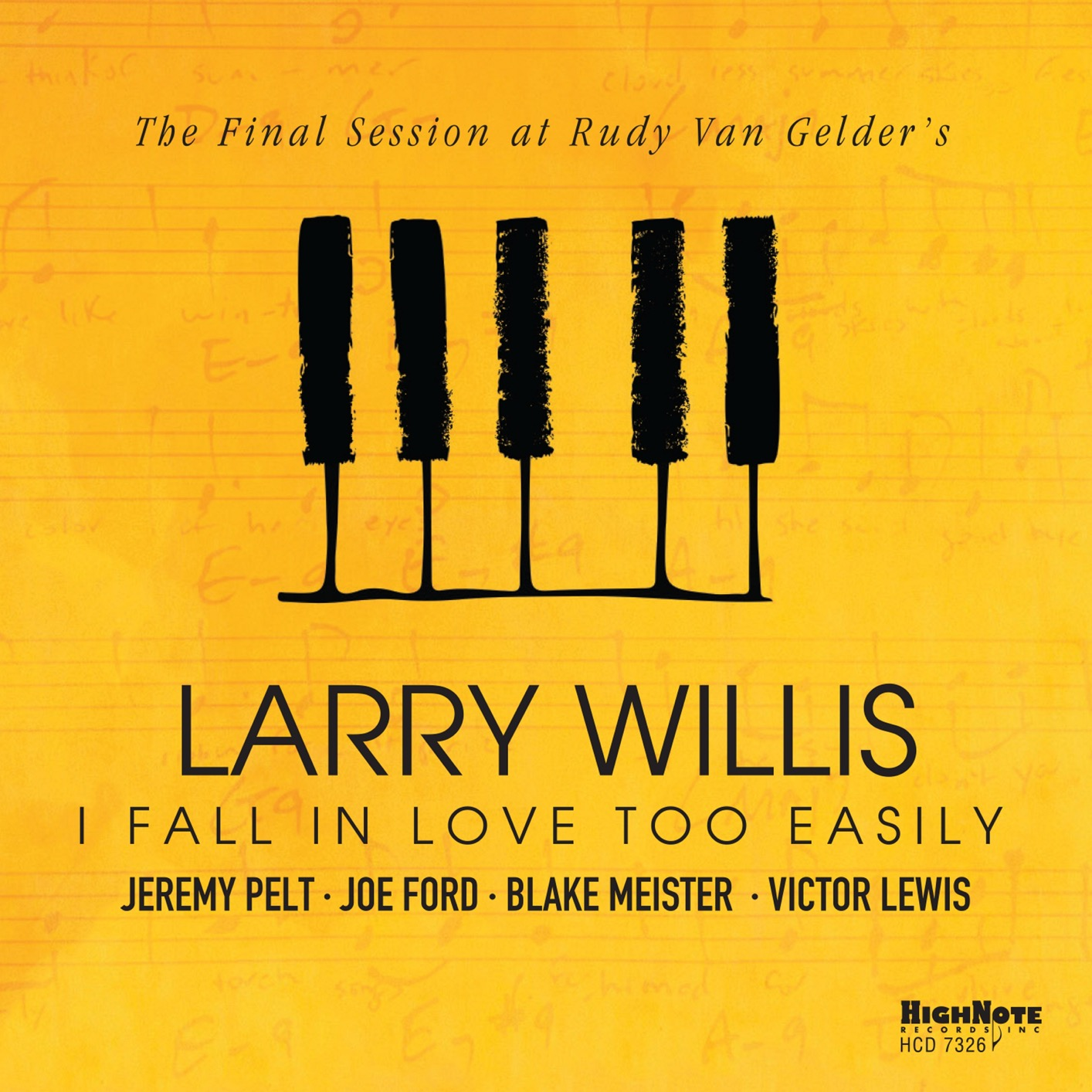 I Fall in Love Too Easily (The Final Session at Rudy Van Gelder's ...