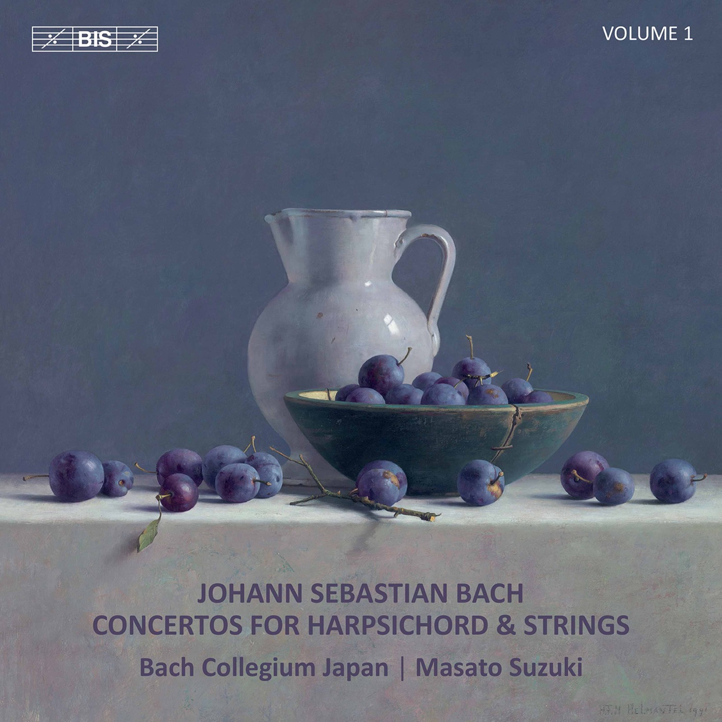 Bach: Concertos for Harpsichord & Strings, Vol. 1 | HIGHRESAUDIO