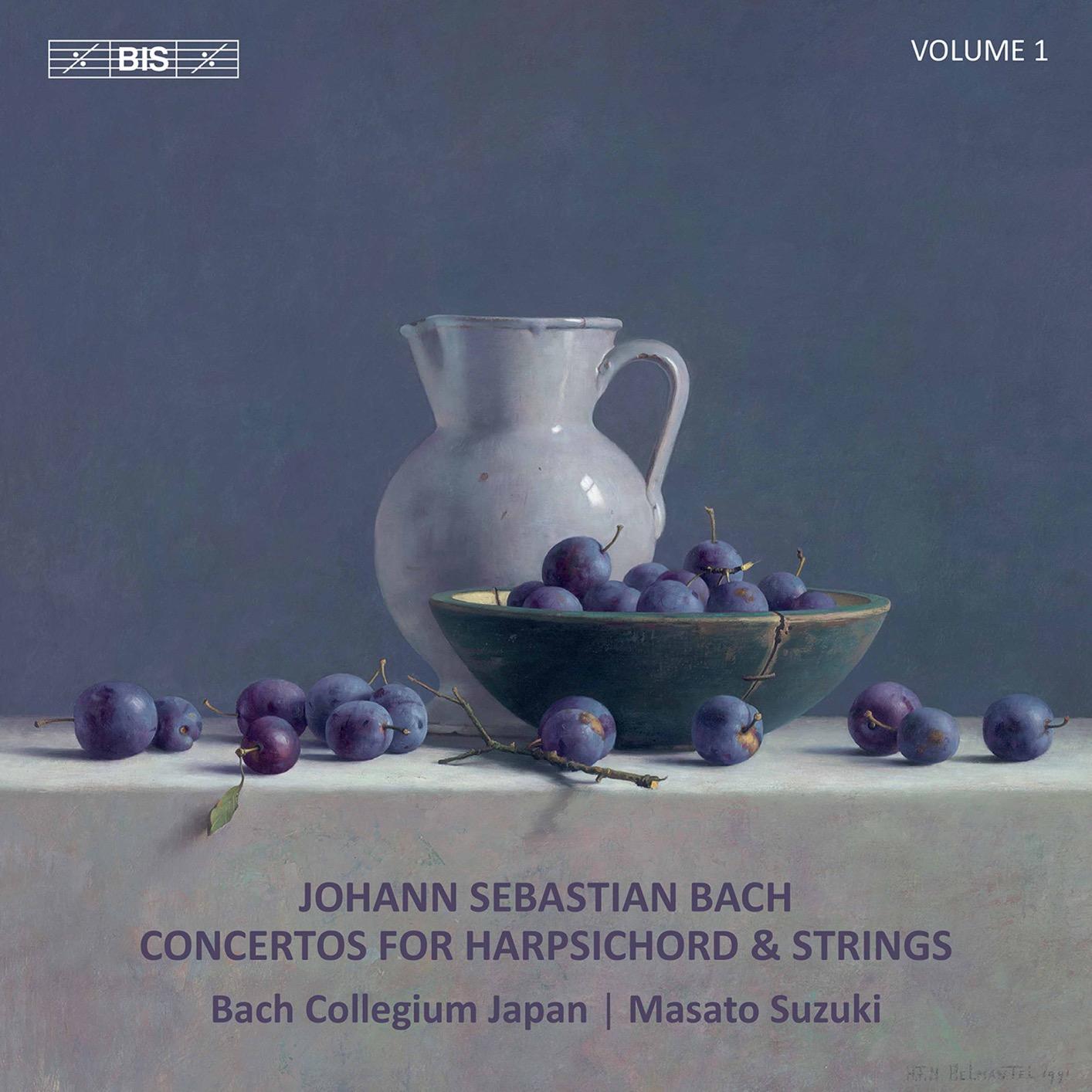 Bach: Concertos for Harpsichord & Strings, Vol. 1 | HIGHRESAUDIO