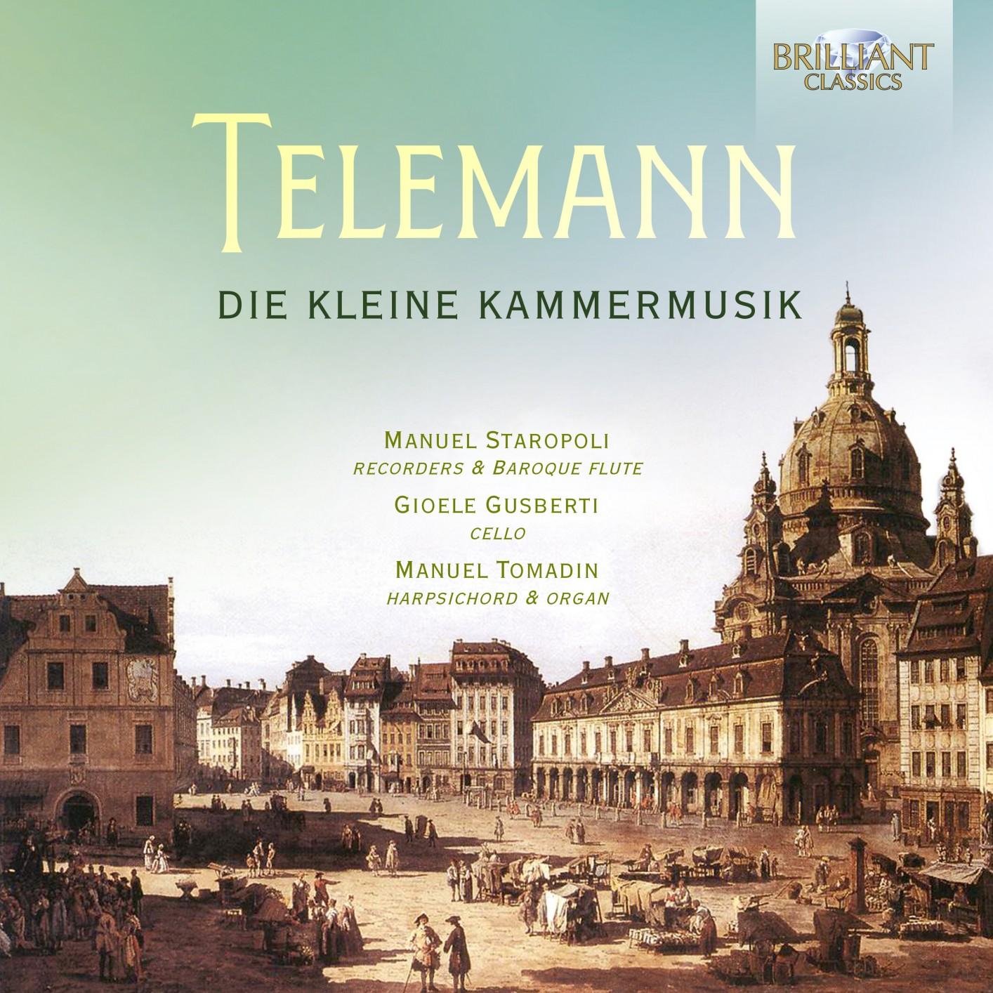 Telemann: Die Kleine Kammermusik | HIGHRESAUDIO