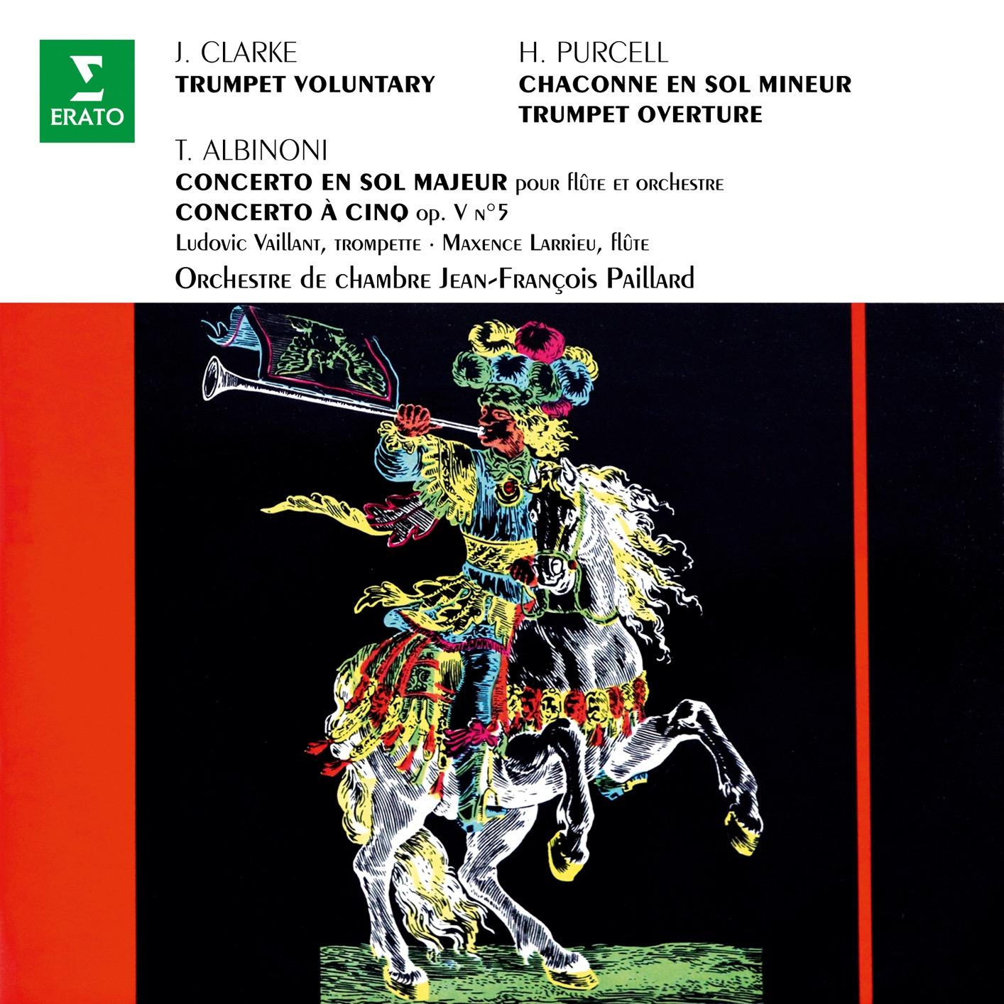 Clarke Trumpet Voluntary Purcell Chaconne En Sol Albinoni Concertos Op 7 No 4 Op 5 No 5 Highresaudio