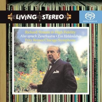 Cover Strauss: Also sprach Zarathustra & Ein Heldenleben