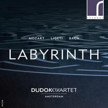 Cover Labyrinth: Mozart, Ligeti & Bach