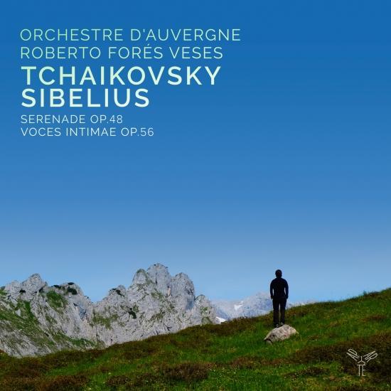 Cover Tchaikovsky: Serenade/ Sibelius: Voces Intimae