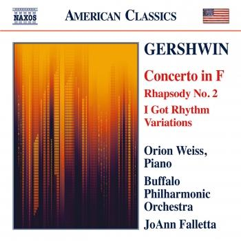 Cover Gershwin: Piano Concerto - Second Rhapsody - I Got Rhythm Variations