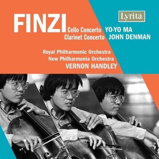 Cover Finzi: Cello Concerto, Op. 40 & Clarinet Concerto, Op. 31