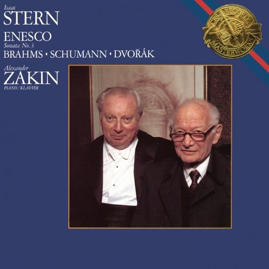 Cover Enescu: Violin Sonata No. 3 - Dvorák: 4 Romantic Pieces - F.A.E. Sonata (Remastered)