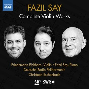 Cover Fazil Say: Violin Works