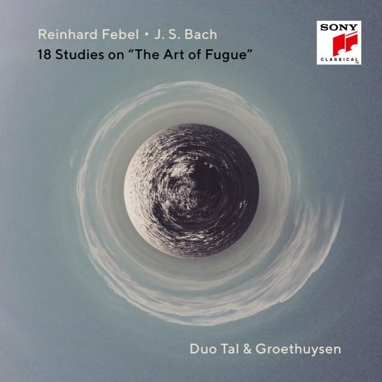 Cover J.S. Bach & Reinhard Febel: 18 Studies on 'The Art of Fugue'