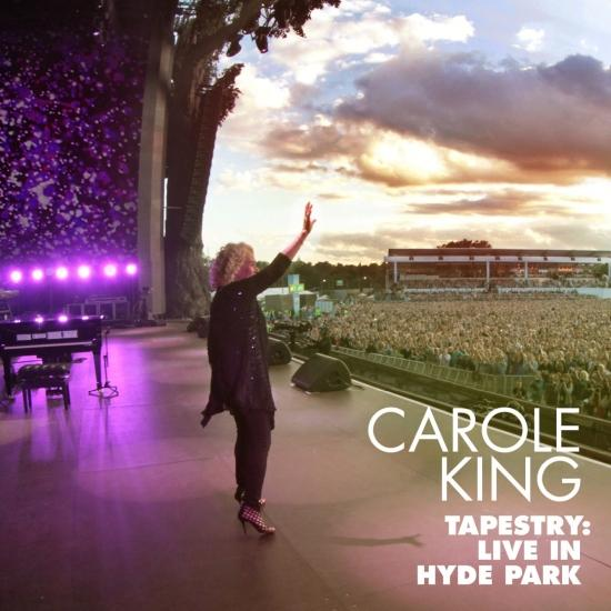 Cover Tapestry: Live in Hyde Park