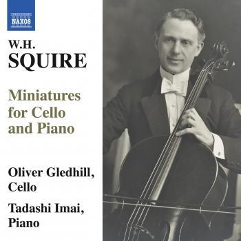 Cover Squire: Miniatures for Cello & Piano