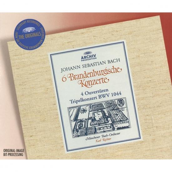 Cover Bach: 6 Brandenburg Concertos, 4 Ouvertures, Tripel Concerto BWV 1044