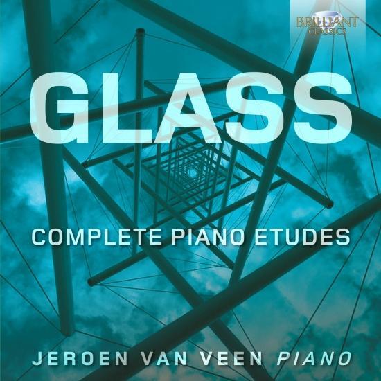 Cover Glass: Complete Piano Etudes