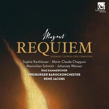 Cover Mozart: Requiem, K. 626 (Süssmayr - Dutron 2016 Completion)