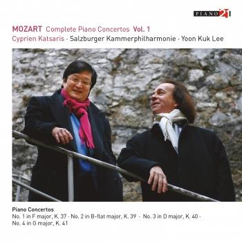 Cover Mozart: Complete Piano Concertos, Vol. 1 (Live - After Hermann Friedrich Raupach's Violin Sonata, Op. 1 No. 5) (Remastered)