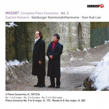 Cover Mozart: Complete Piano Concertos, Vol. 2 (Live - After J.C. Bach's Keyboard Sonata in D major, W.A 2 - Cadenza K. 624/626a, App. A) (Remastered)