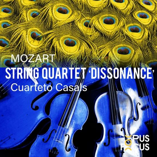 Cover Mozart: String Quartet, K. 465 'Dissonance'