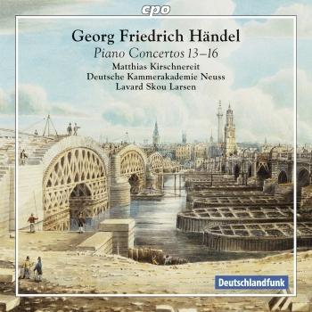 Cover Händel: Piano Concertos Nos. 13-16