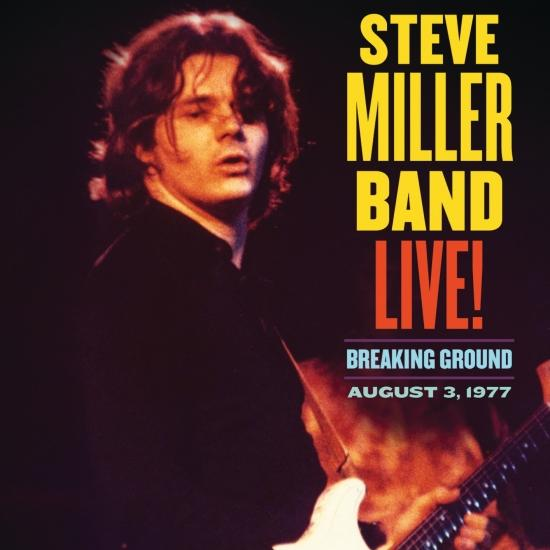 Cover Live! Breaking Ground August 3, 1977 (Remastered)