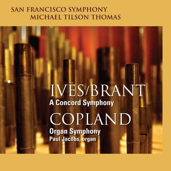 Cover Ives: A Concord Symphony - Copland: Organ Symphony