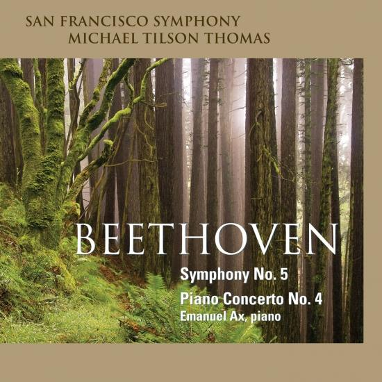 Cover Beethoven: Symphony No. 5 - Piano Concerto No. 4