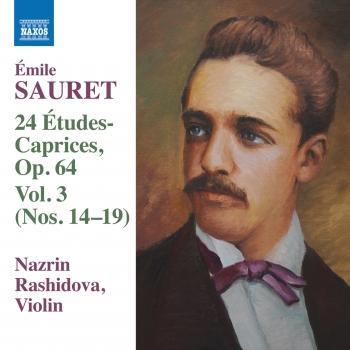 Cover Sauret: 24 Études-caprices, Vol. 3