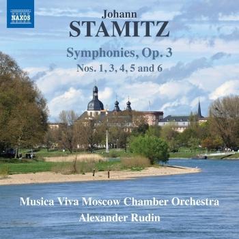 Cover Stamitz: Symphonies, Op. 3 Nos. 1 & 3-6