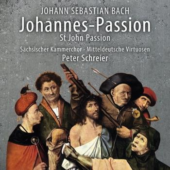 Cover J.S. Bach: St. John Passion, BWV 245 (Live)