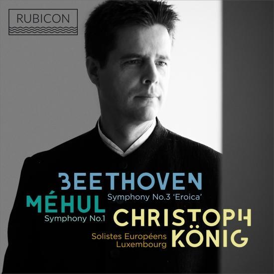 Cover Méhul: Symphony No. 1 - Beethoven: Symphony No. 3 'Eroica'