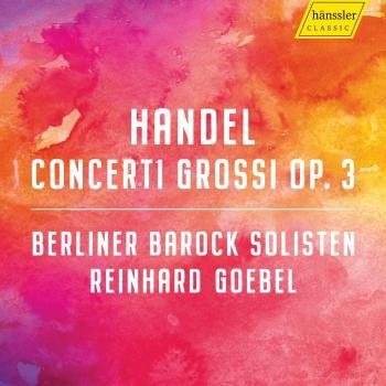 Cover Handel: Concerti Grossi, Op. 3
