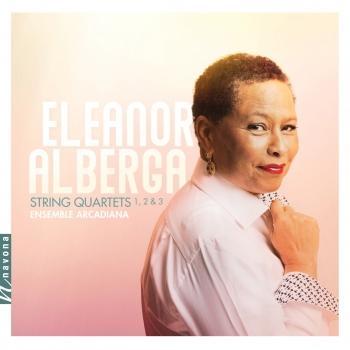 Cover Eleanor Alberga: String Quartets Nos. 1-3