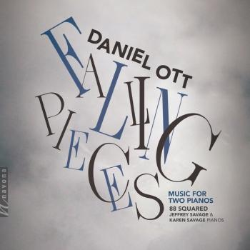 Cover Falling Pieces: Music for 2 Pianos
