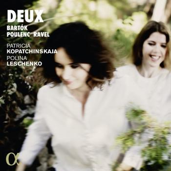 Cover Deux (Bartók, Poulenc & Ravel)