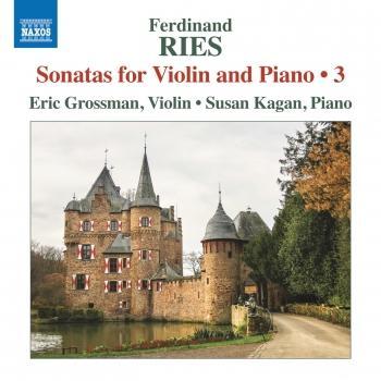 Cover Ries: Sonatas for Violin & Piano, Vol. 3