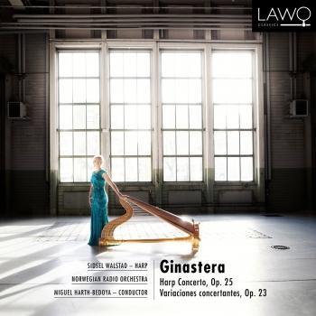 Cover Ginastera: Harp Concerto, Op. 25 / Variaciones concertantes, Op. 23