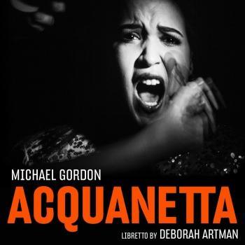 Cover Michael Gordon: Acquanetta (Chamber Version)
