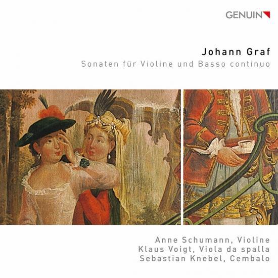 Cover Graf: Violin Sonatas