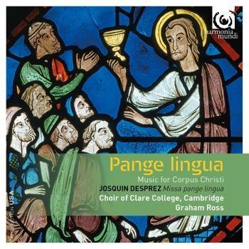 Cover Pange Lingua: Music for Corpus Christi
