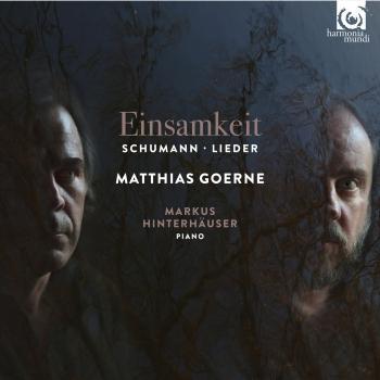 Cover Schumann: Einsamkeit - Lieder