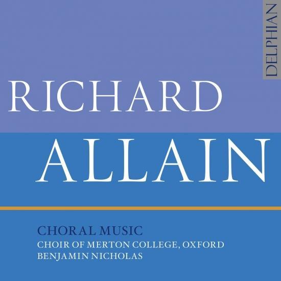 Cover Allain: Choral Music