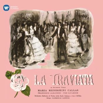 Cover Verdi La traviata (1953 - Santini) - (Mono Remastered)