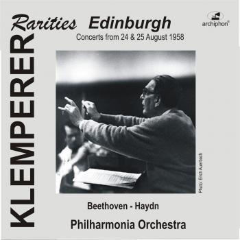 Cover Klemperer Rarities: Edinburgh