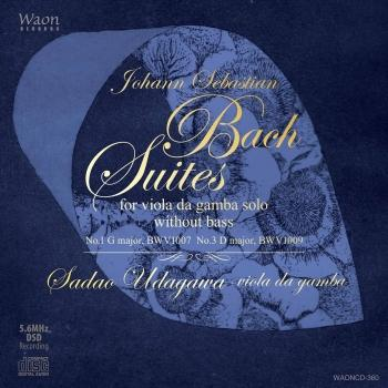Cover Johann Sebastian Bach Suites for viola da gamba solo without bass (Ii)