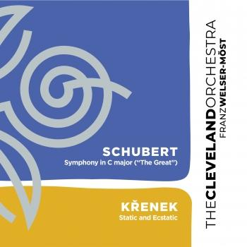 Cover Schubert: Symphony No. 9 in C Major 'The Great' - Křenek: Static and Ecstatic
