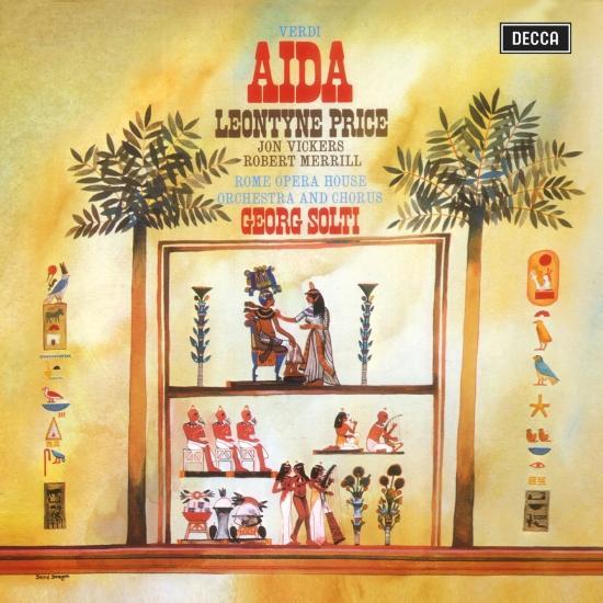 Cover Verdi: Aida (Remastered)