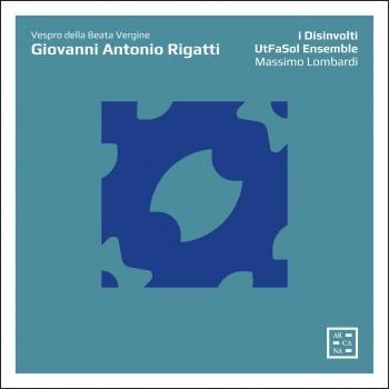 Cover Rigatti: Vespro della Beata Vergine