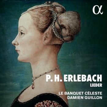 Cover P.H. Erlebach: Lieder