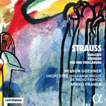 Cover Strauss: Burleske, Serenade & Tod und Verklärung