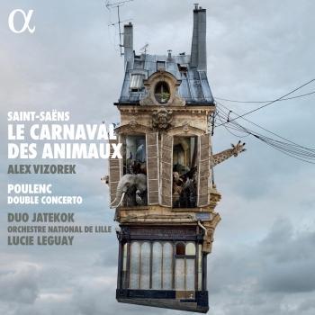 Cover Saint-Saëns: Le carnaval des animaux - Poulenc: Double Concerto