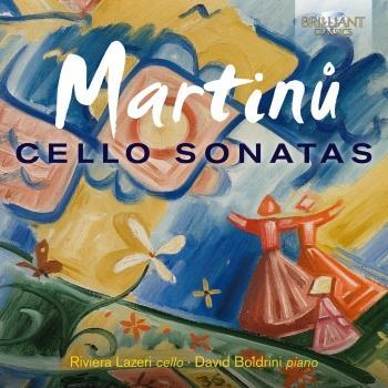 Cover Martinu: Cello Sonatas